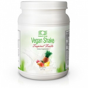 Vegan Shake Tropical Fruits